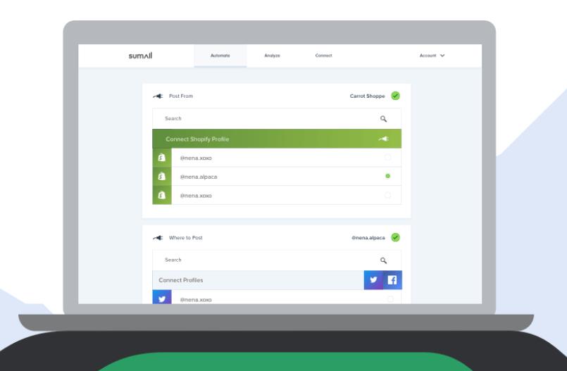 Social Media Monitoring Tool kostenlos - Sumall